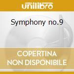 Symphony no.9 cd musicale di Gustav Mahler