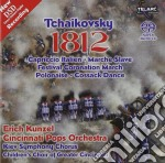 1812 overture (dsd recording)/sacd cd musicale di Tchaikovsky