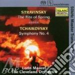 Sagra della primavera - sinfonia n. 4 cd musicale di Stravinsky