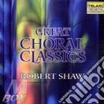 Great choral classics cd musicale di Artisti Vari