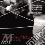 Romeo e giulietta suites 1, 2 & 3 cd musicale di Prokofiev