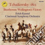 1812 ouverture - wellington's victory cd musicale di Tchaikovsky/beethoven