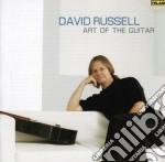 Art of the guitar cd musicale di David Russel