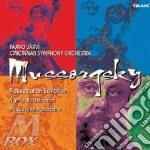 Opere orchestrali cd musicale di Mussorgsky
