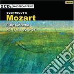 Concerti per piano nn.17,20,22,24 cd musicale di Wolfgang Amadeus Mozart