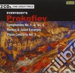 Sinfonie nn.1,5 e altre opere cd musicale di Prokofiev