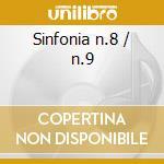 Sinfonia n.8 / n.9 cd musicale di Franz Schubert