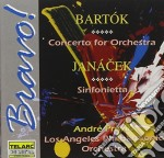Concerto for orchestra/sinfon cd musicale di Bartok/janacek