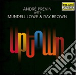 Andre Previn - Uptown cd musicale di Previn andré & m.low