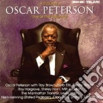 A TRIBUTE TO/LIVE AT THE TOWN HALL cd musicale di Oscar Peterson