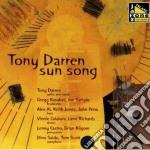 Sun song - cd musicale di Darren Tony