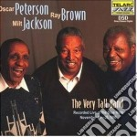 THE VERY TALL BAND cd musicale di PETERSON O./BROWN R./JACKSON M