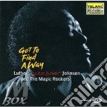 GOT TO FIND AWAY cd musicale di Luther Johnson