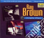 Triple play ray brown cd musicale di Ray Brown