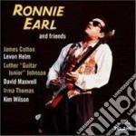 RONNIE EARL AND FRIENDS cd musicale di Ronnie Earl