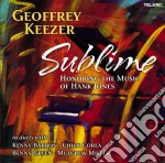 Sublime - honoring the music of hank jon cd musicale di Geoffrey Keezer