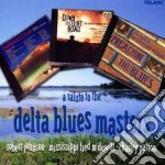 A salute to the delta blues masters cd musicale di Johnson mcdowell p