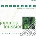 Beethoven allegretto from symphony n. 7 cd musicale di Jacques Loussier