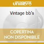 Vintage bb's cd musicale di Flim & the bb's