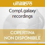 Compl.galaxy recordings cd musicale di Art pepper (16 cd)