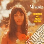 Memories - farina richard mimi cd musicale di Richard & mimi farina