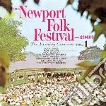 Newport folk festival'63 - cd musicale di Jack elliott/bob dylan & o.