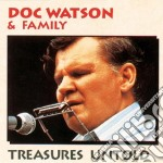 TREASURES UNTOLD cd musicale di DOC WATSON