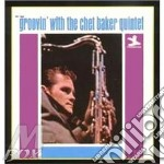 GROOVIN'WITE THE (20 bit remastere) cd musicale di BAKER CHET QUINTET