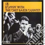 BOPPIN'WITH THE(20 bit remastered) cd musicale di BAKER CHET QUINTET