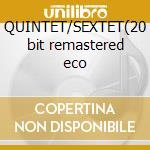 QUINTET/SEXTET(20 bit remastered eco cd musicale di DAVIS MILES and MILT JACKSON