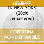 IN NEW YORK (20bit remastered) cd musicale di BAKER CHET