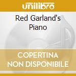 RED GARLAND'S PIANO cd musicale di GARLAND RED (DP)