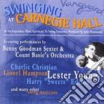 Swinging at carnegie hall cd musicale di Artisti Vari