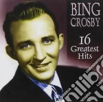 16 greatest hits cd musicale di Bing Crosby