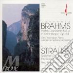 Piano conc n.2, salome: danza cd musicale di Brahms j./strauss r.