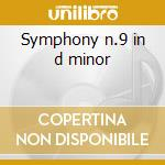 Symphony n.9 in d minor cd musicale di Beethoven ludwig van