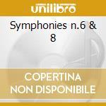 Symphonies n.6 & 8 cd musicale di Beethoven ludwig van