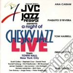 A night of chesky jazz... cd musicale di Rivera/ A.caram/p.de