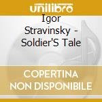 Histoire du soldat cd musicale di Stravinsky igor fedor