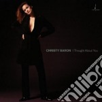 I thought about you cd musicale di Christy Baron