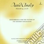 Psalms 4,5 & 6 remembrance cd musicale di David Chesky