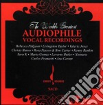 WORLDS AUDIOPHILE VOCAL cd musicale di ARTISTI VARI
