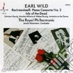 Piano concerto n.2 cd musicale di Sergei Rachmaninoff