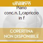 Piano conc.n.1,capriccio in f cd musicale di Tchaikovsky / dohanay