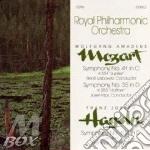 Symph. n.41,35 / symph. n.104 cd musicale di Haydn/mozart
