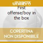 First offense/boy in the box cd musicale di Corey Hart