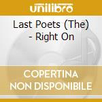Right on cd musicale di Poets Last