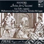 Arie da rodelinda, riccardo i, giulio ce cd musicale di HANDEL GEORG FRIEDRI