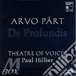 De profundis cd musicale di PART ARVO