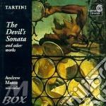 The devil's sonata cd musicale di Giuseppe Tartini